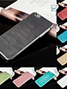 dsd® ultra mince brossé pc de la peau dure de couverture de cas pour l'iphone 6 plus (couleurs assorties)