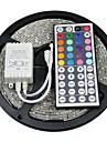 W Flexible LED Light Strips Light Sets RGB Strip Lights lm DC12 5 m leds RGB