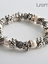 Lureme®Women's Fashionable Silvery Pearl Bracelet Jewelry Christmas Gifts