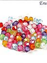 eruner®80pcs profilent bandes perles acryliques de style