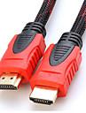 2.7m hdmi v1.4 9.84ft 3D 1080p Garcon yong a haute vitesse par cable male