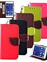 KARZEA® Leaf Mixed Colors TPU Leather Full Body With Stand for Samsung Galaxy Core 2 G3556D/G355H(