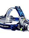 Lanternas LED Lanternas de Cabeca LED 800 Lumens Modo Cree T6 18650.0 Foco Ajustavel Recarregavel Impermeavel Campismo / Escursao /
