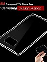 Mobile Samsung - Couleur unie - Couvercle de dos - pour Samsung Samsung Galaxy S6 edge ( Blanc , TPU )