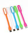 10pcs 1.2W Portable USB LED Light Flexible USB Powered LED Lamp for Laptops PC Notebooks(Random Color)