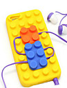 Soft Bricks Back Case Cover for iPhone 5/5S