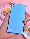 ultra-mince de 0,3 mm coloré de cas gommage pp pour Huawei Ascend p6 (de couleurs assorties)