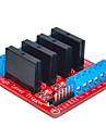quatre pour Arduino relais d\'etat solide (rouge)