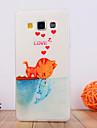 Pour Samsung Galaxy Coque Motif Coque Coque Arrière Coque Chat PUT pour Samsung A7