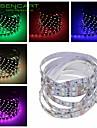 SENCART 1 M 60 5050 SMD Branco Quente/Branco/RGB/Vermelho/Amarelo/Azul/Verde/RosaCortavel/Controlo Remoto/Regulavel/Conetavel/Adequado
