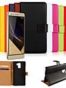 реальный случай кожаный бумажник для Huawei Honor 7 (разные цвета)