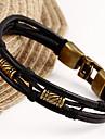 가죽 팔찌 유니크 디자인 패션 의상 보석 보석류 보석류 제품 크리스마스 선물