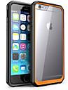 For iPhone 6 Case / iPhone 6 Plus Case Shockproof / Transparent Case Back Cover Case Solid Color Hard PCiPhone 6s Plus/6 Plus / iPhone
