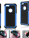 애플 아이폰 5C에 대한 내진성 하이브리드 하드 케이스 갑옷 중장비 하드 커버 (모듬 색상)
