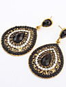 여성 드랍 귀걸이 패션 유럽의 의상 보석 레진 합금 드롭 보석류 제품