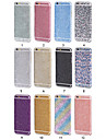 mousseux strass douce autocollant bling de diamant pour iphone 6 / 6s (couleurs assorties)