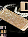 plein de paillettes de corps pour iPhone6 ​​/ 6s telephone brillant de cas autocollant mousseux decalcomanies de films de diamant