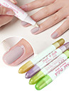 1PCS Nail Polish Removel Pen 4 Heads(Excluding nail polish remover) Random Color