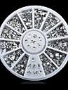 1whee mix forme strass ongle decorations-Bijoux pour ongles-Doigt- enAdorable-6cm roue