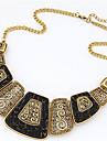Женский Ожерелья с подвесками Жемчужные ожерелья Заявление ожерелья Жемчуг Сплав Мода Массивные украшения Симпатичные Стиль европейский