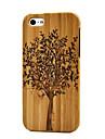 아이폰 5 / 5S 수제 천연 목재 나무 육체 하드 대나무 케이스 커버