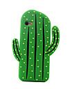 de volta A Prova de Impacto Fruta Silicone Macio cactus Case Capa Para Apple iPhone 6s Plus/6 Plus / iPhone 6s/6 / iPhone SE/5s/5
