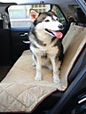 Dog Car Seat Cover Pet Mats & Pads Waterproof Foldable Black Beige Brown