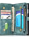 Para iPhone 8 iPhone 8 Plus iPhone 7 iPhone 7 Plus iPhone 6 Case Tampa Porta-Cartao Carteira Antichoque Flip Corpo Inteiro Capinha Cor