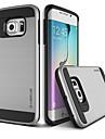 Para Samsung Galaxy Capinhas Case Tampa Antichoque Capa Traseira Capinha Cor Solida PC para SamsungS7 plus S7 edge S7 S6 edge plus S6