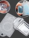 прямоугольный прозрачный уплотнение маникюр шаблон печать 2 шт скребок