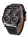 Мужской Спортивные часы Армейские часы Модные часы Наручные часы Compass Термометр Кварцевый Натуральная кожа ГруппаВинтаж Повседневная