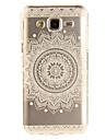 For Samsung Galaxy J5 J5(2016) J3 J3(2016) G530 Case Cover Mandala Flowers Pattern IMD Process Painted TPU Material Phone Case