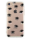 Para iPhone X iPhone 8 iPhone 7 iPhone 7 Plus iPhone 6 Case Tampa Ultra-Fina Estampada Capa Traseira Capinha Azulejo Macia PUT para Apple