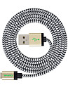 MFI 3M(10ft) Braided Lightning Cable USB Sync and Charge for Apple iPhone 7 6s 6 Plus SE 5s 5c 5 Plus/ iPad Air/iPad mini
