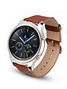 para / de couro de substituicao banda pulseira de relogio pulseira classico Samsung Gear s3 fronteira