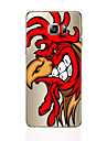 For Samsung Galaxy S7 Edge Transparent / Pattern Case Back Cover Case Cartoon Soft TPU SamsungS7 /s6 edge plus / s6 edge / s6