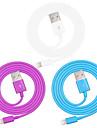 maca mfi certificada relampago para cabo do carregador de dados USB Sync para iPhone 7 6s 6 mais SE 5s 5 / ipad (100cm)