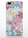Для Матовое С узором Кейс для Задняя крышка Кейс для Геометрический рисунок Твердый PC для AppleiPhone 7 Plus iPhone 7 iPhone 6s Plus