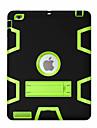 용 충격방지 스탠드 360°회전 케이스 풀 바디 케이스 기하학 패턴 하드 PC 용 Apple iPad 4/3/2
