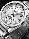 NAVIFORCE Gold Men Watch Luxury Brand Watches Men Sport Full Steel Quartz Watch Man 3ATM Waterproof Clock Military Wristwatches