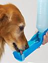 Cat Dog Bowls & Water Bottles Pet Bowls & Feeding Waterproof Portable Red Blue Blushing Pink
