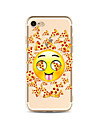 Case for iPhone 7 Plus 7 Cover Transparent Pattern Back Cover Case Cartoon Foods Soft TPU for Apple iPhone 6s plus 6 Plus 6s 6 SE 5s 5c 5 4s 4