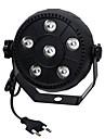 ywxlight® 3w eu plug haute puissance 18w led par lumiere grand effet de teinture effet de scene avec controle du son pour ktv bar ac