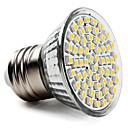 hesapli Makyaj ve Tırnak Bakımı-1pc 3.5 W 300-350 lm E26 / E27 LED Spot Işıkları 60 LED Boncuklar SMD 2835 Sıcak Beyaz / Serin Beyaz / Doğal Beyaz 220-240 V