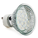 cheap LED Bulbs-1.5W 60-80 lm GU10 LED Spotlight MR16 18 leds High Power LED Warm White AC 220-240V
