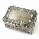 cheap Key Chains-Box Jewelry Boxes - Personalized, Glam, Vintage Silver 9 cm 6 cm 4 cm / Wedding / Anniversary / Gift / Valentine
