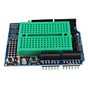 cheap Motherboards-Prototype Shield with Mini Breadboard For (For Arduino) (ProtoShield)