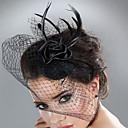 hesapli Saç Takıları-Tül / Tüy Tüy / Kürk  -  Fascinators 1pc Düğün / Özel Anlar Başlık