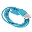cheap USB Cables-USB A Male to Micro USB Male Cable, Blue (1M)