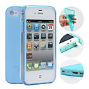 cheap iPhone Cases-Case For iPhone 4/4S / Apple Back Cover Soft TPU for iPhone 4s / 4
